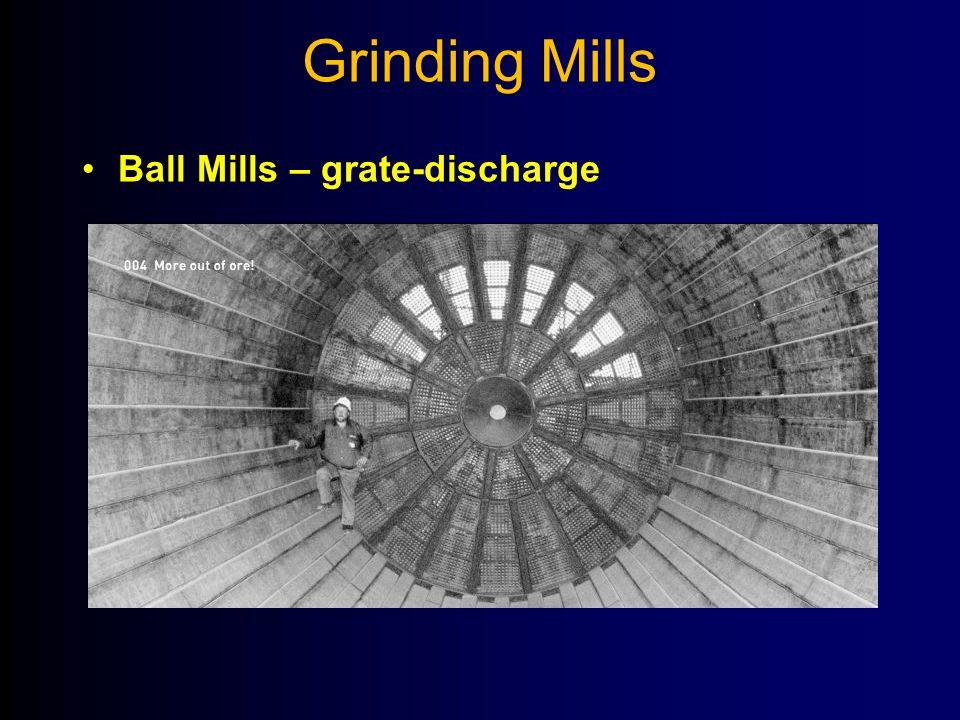 Grinding Mills Ball Mills – grate-discharge