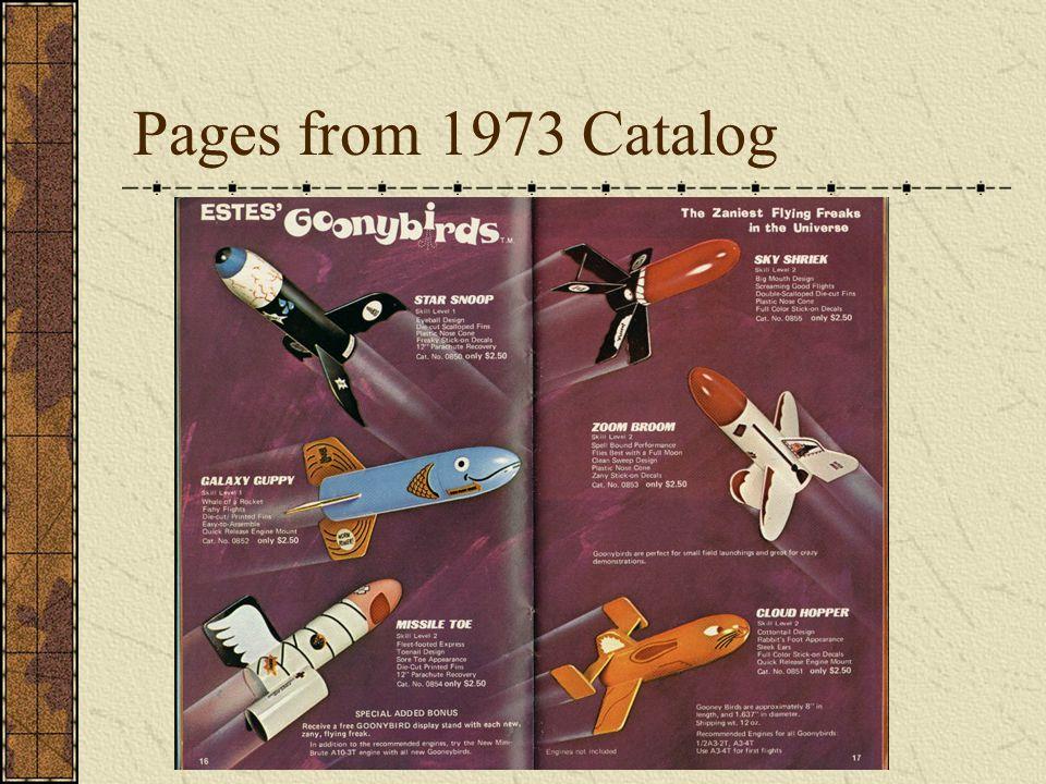 More Goonybird Designs Space Probe (Estes Alien Space Probe) AIM-54A Goonix (Estes Phoenix)