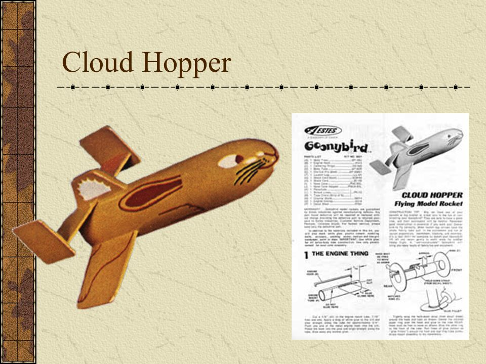 Goonybird Gliders Sky Goon (Estes Sky Dart) SwingWing Goon (Estes Scissor Wing Transport)