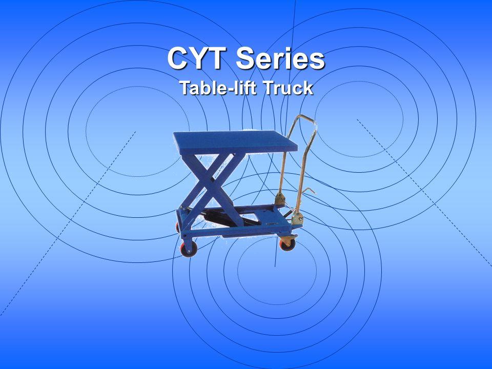 CYT Series Table-lift Truck