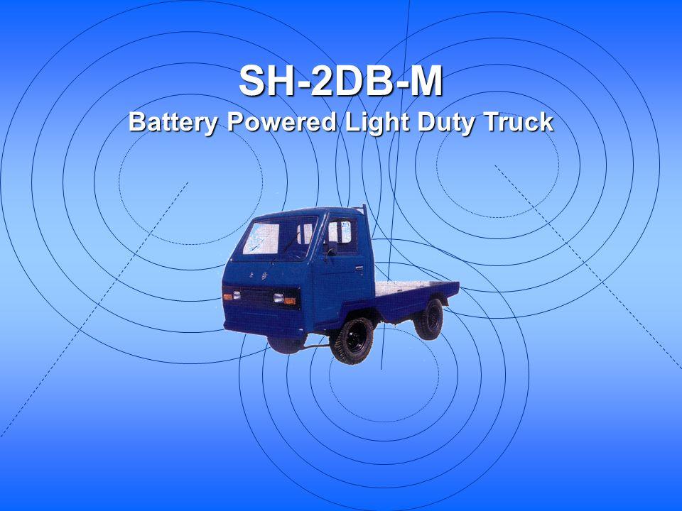 SH-2DB-M Battery Powered Light Duty Truck