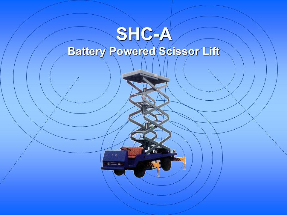 SHC-A Battery Powered Scissor Lift