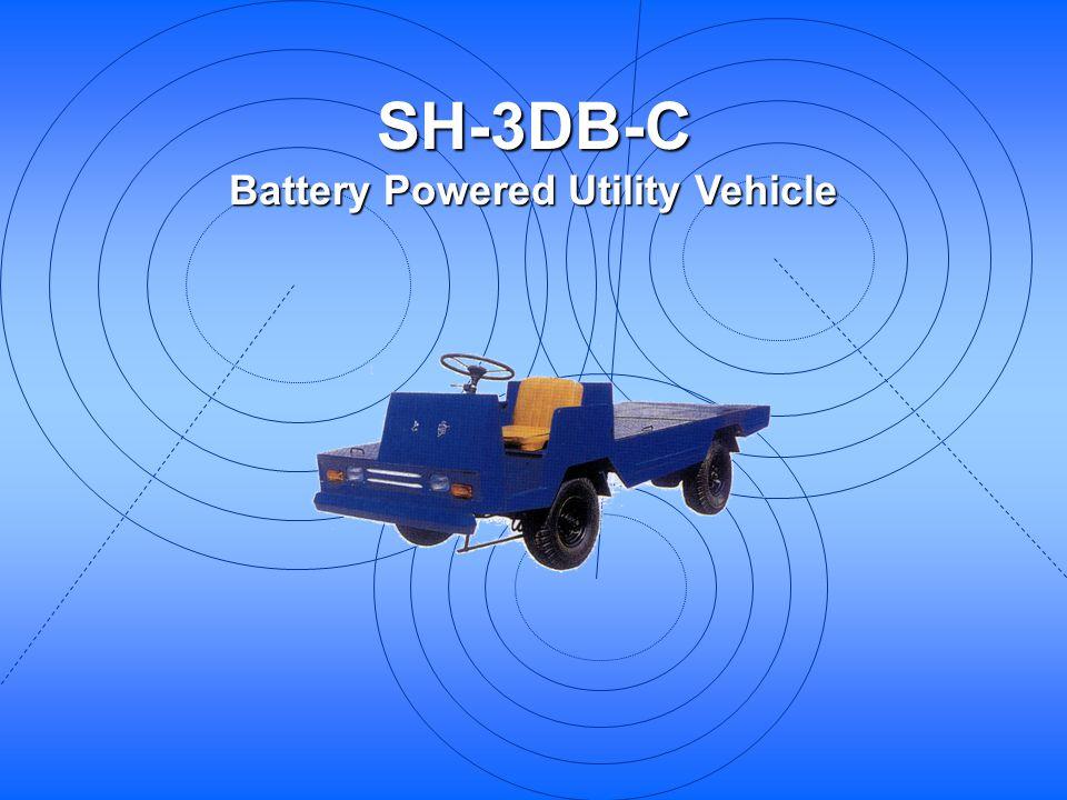 SH-3DB-C Battery Powered Utility Vehicle