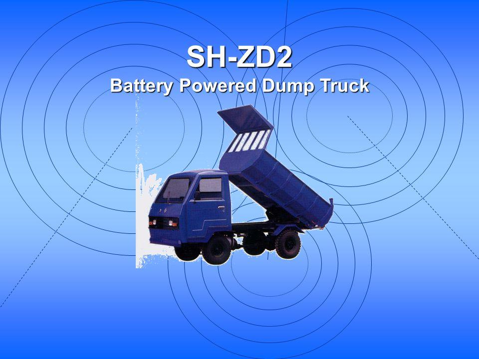 SH-ZD2 Battery Powered Dump Truck