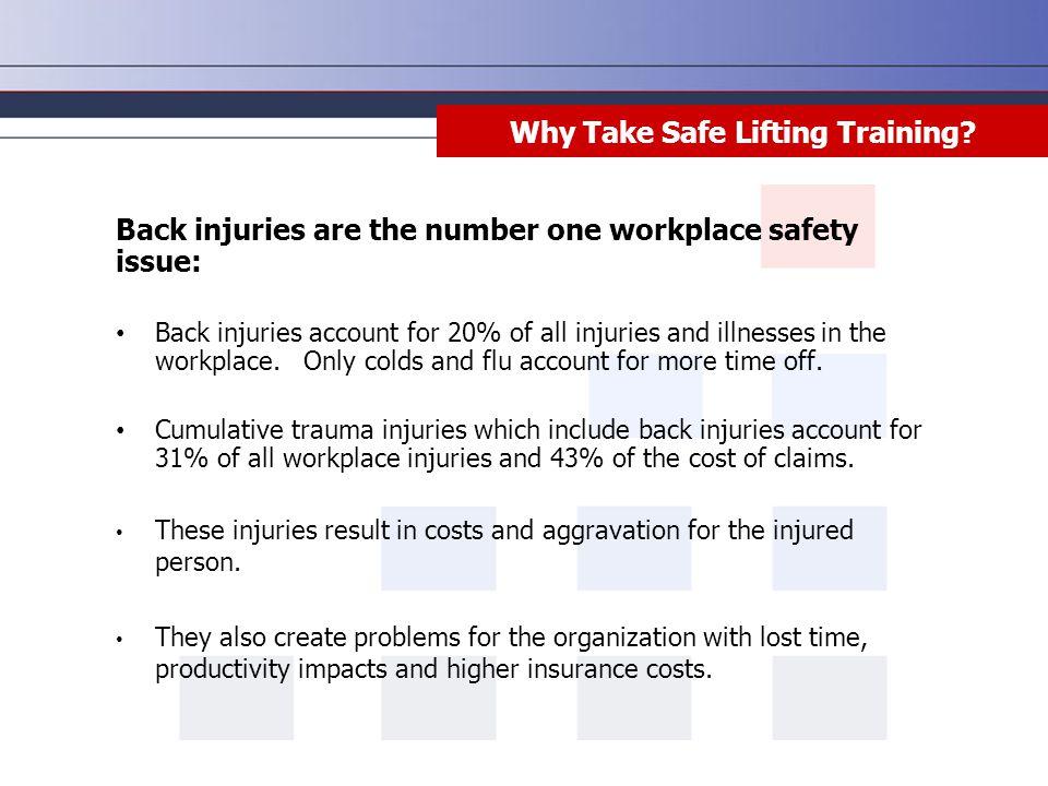 Why Take Safe Lifting Training.