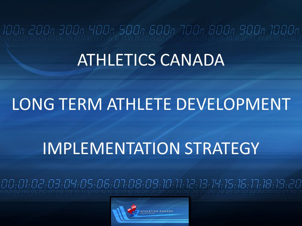 Adult training and competition structures are superimposed on young athletes Preparation is geared to short-term outcome of winning, not the process Chronological,rather than developmental age, is used in training/competition planning Fundamental movement skills and sport skills are not taught properly Parents are not educated about LTAD Many sports specialize too early in an attempt to attract and retain participants WHY WE NEED A LONG TERM ATHLETE DEVELOPMENT MODEL