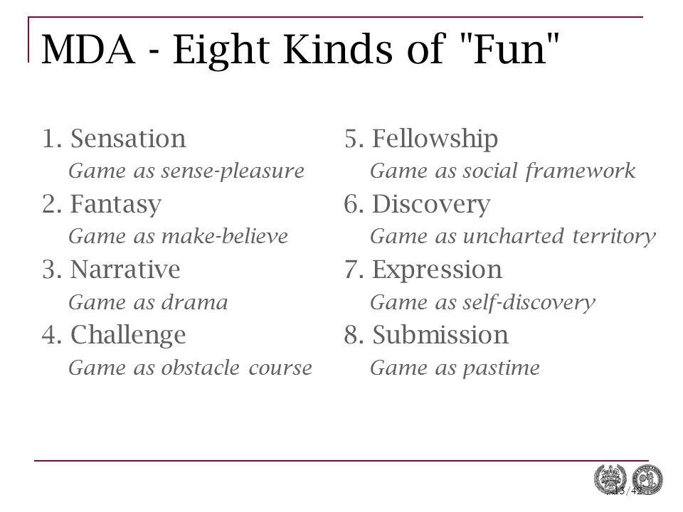 13/42 MDA - Eight Kinds of