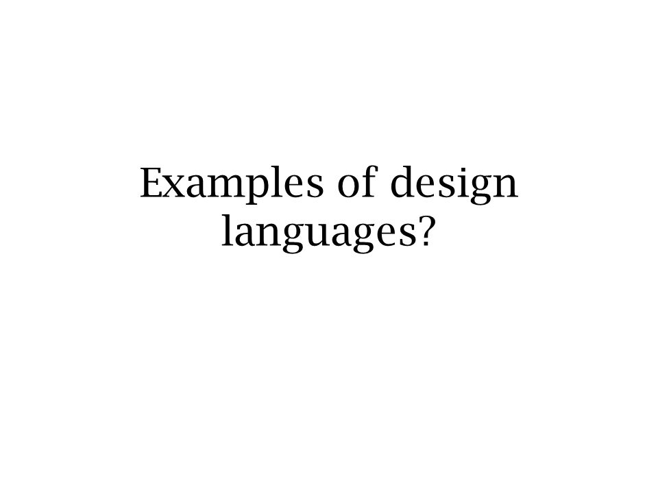7 Formal Abstract Design Tools (articles online, e.g.