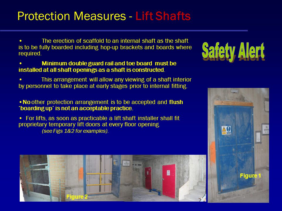 Protection Measures Edge Protection The primary means of achieving safety when working at height is to provide adequate access arrangements and workin