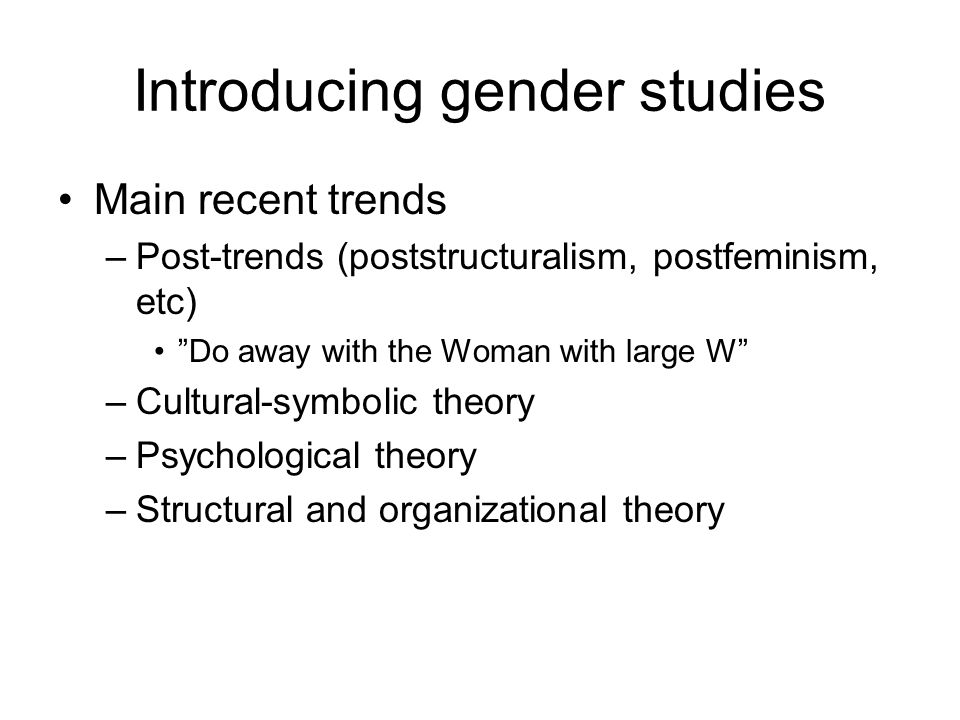 Men and masculinities studies Perspectives on men as gendered Early research findings –Men as power holders 1980s: The problem of men –Better formulations in women's studies, e g R Coward: Patriarchal precedents, 1983.