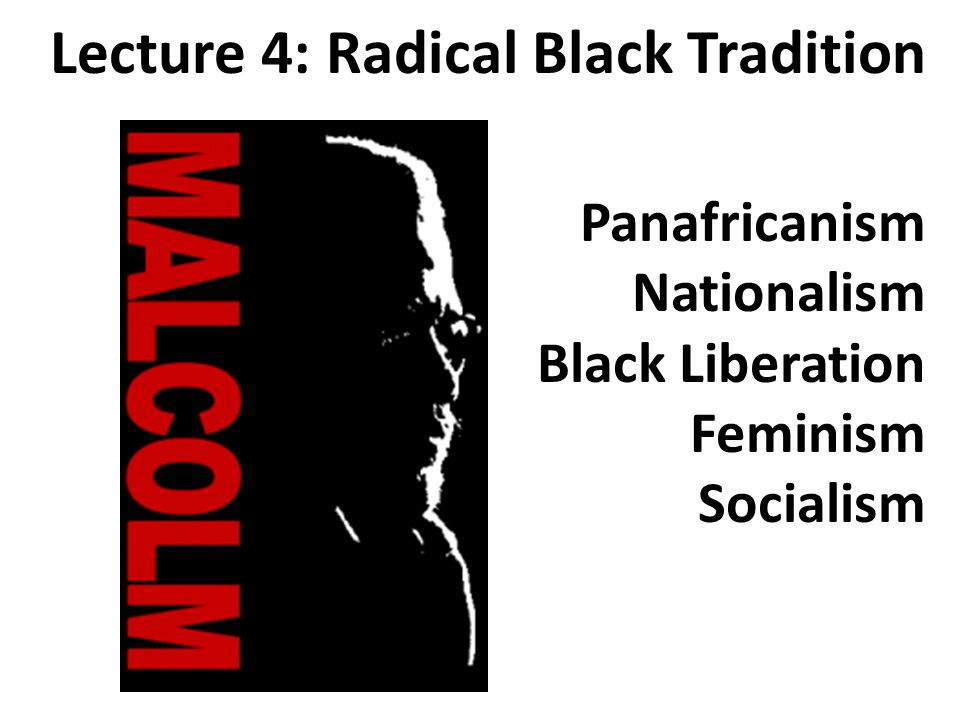 The Black Radical Congress continued the debate (1998) Bill Sales Sam Anderson Jarvis TynerManning Marable A New York Polarity