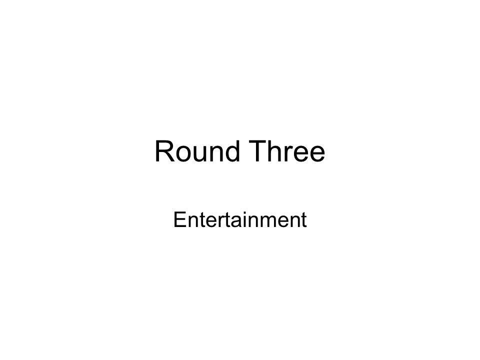 Round Three Entertainment
