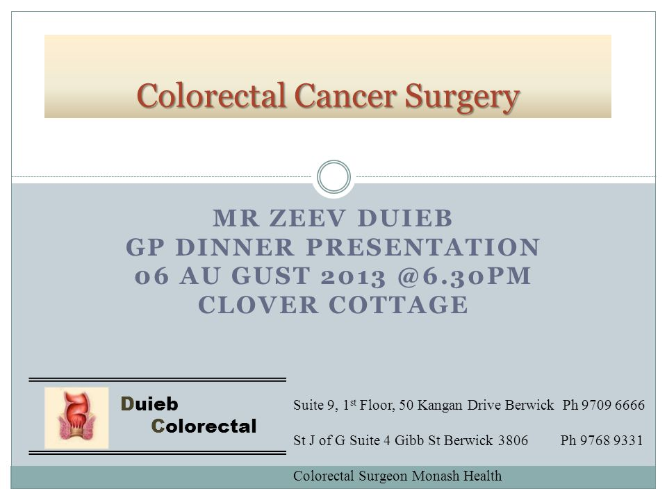 Objectives in Colorectal cancer surgery Prevention of surgical morbidity/ mortality Optimal oncological clearance  Cancer and Lymph Node clearance > 12 LN Prevention of local recurrence – TME, radioRx Quality of life Laparoscopic Surgery still needs to uphold these objectives.