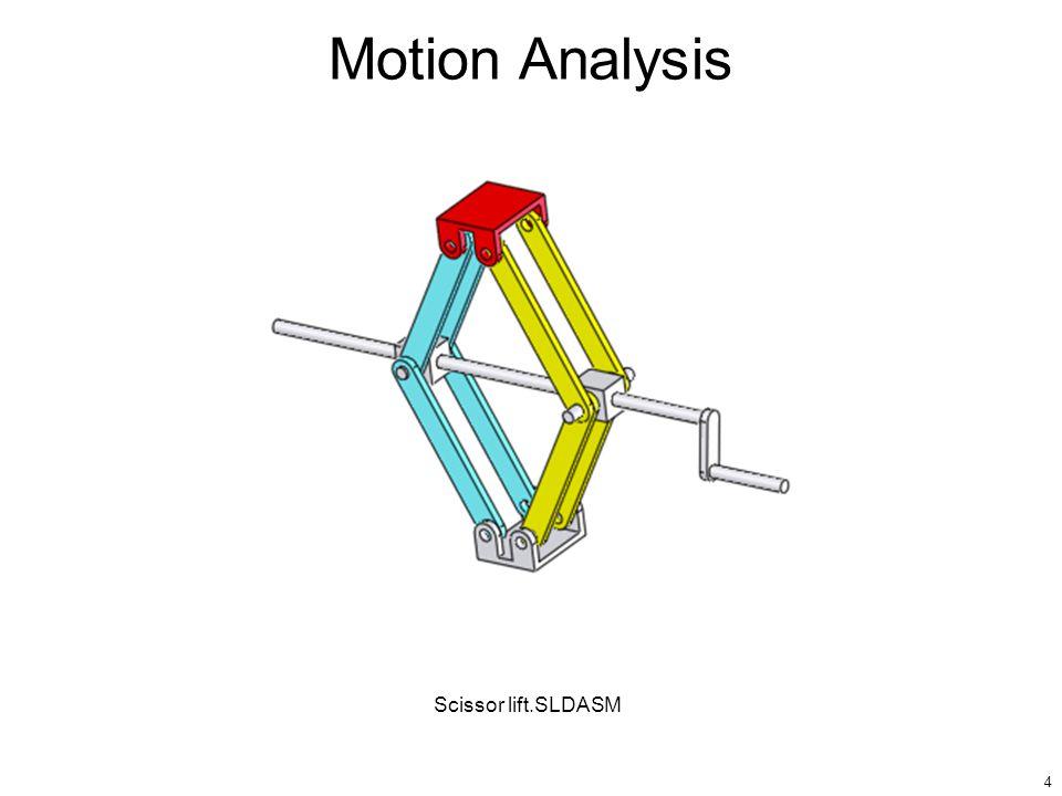 4 Motion Analysis Scissor lift.SLDASM