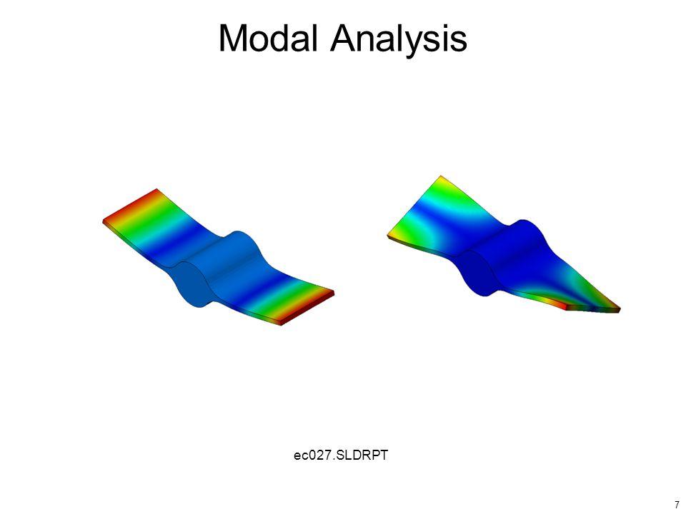 7 Modal Analysis ec027.SLDRPT