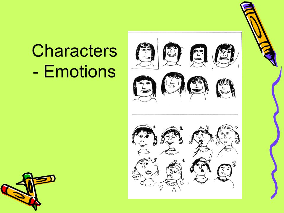 Characters - Emotions