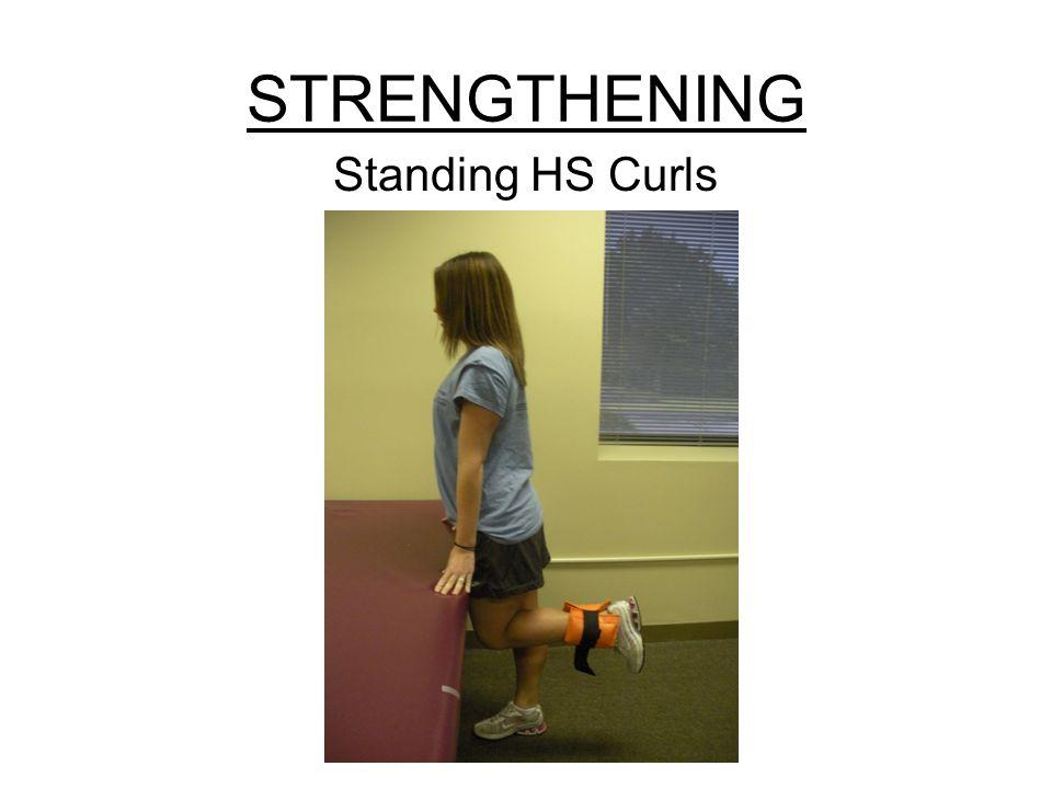 STRENGTHENING Standing HS Curls