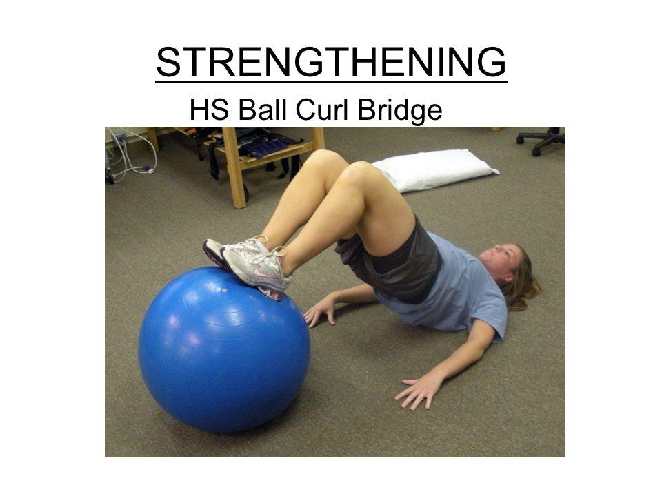 STRENGTHENING HS Ball Curl Bridge