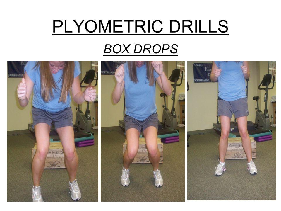 PLYOMETRIC DRILLS BOX DROPS