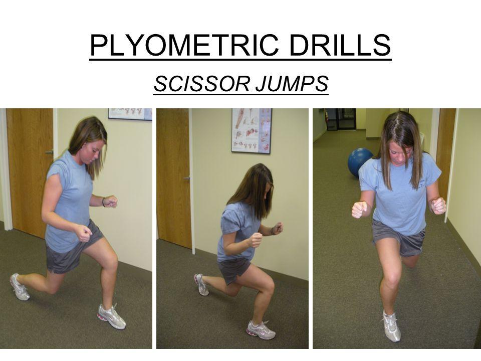 PLYOMETRIC DRILLS SCISSOR JUMPS