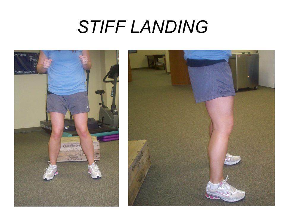 STIFF LANDING
