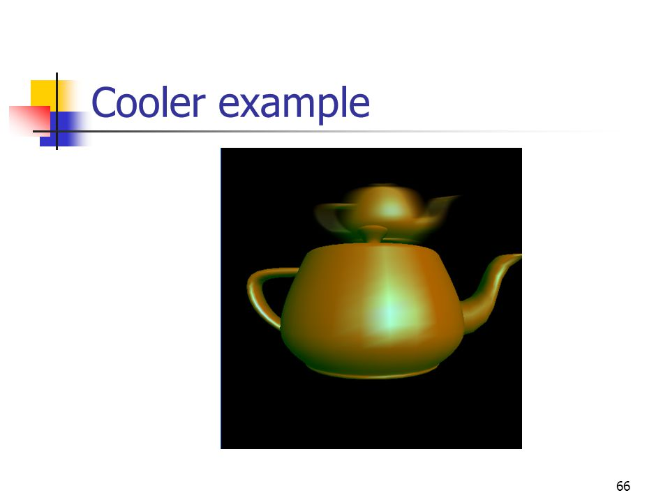 66 Cooler example
