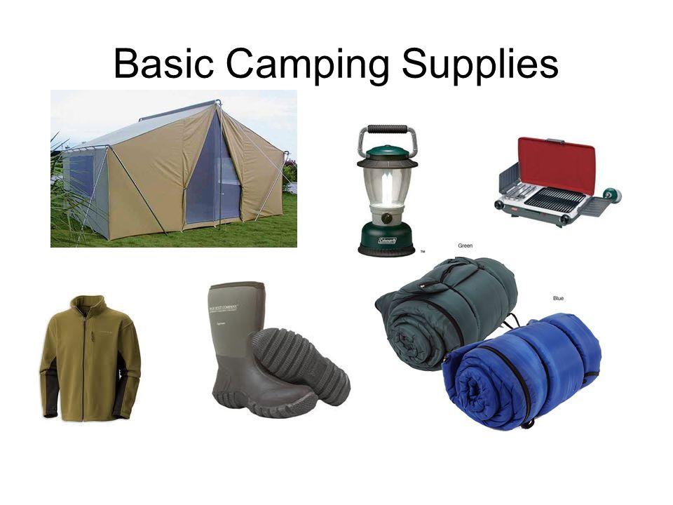 Basic Camping Supplies