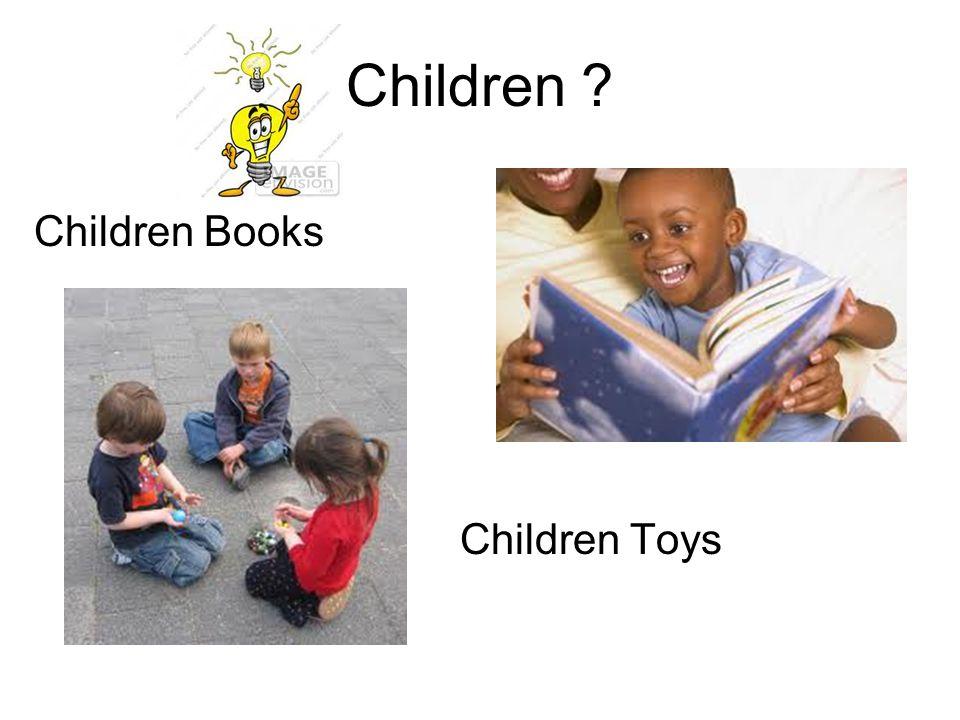 Children Children Books Children Toys
