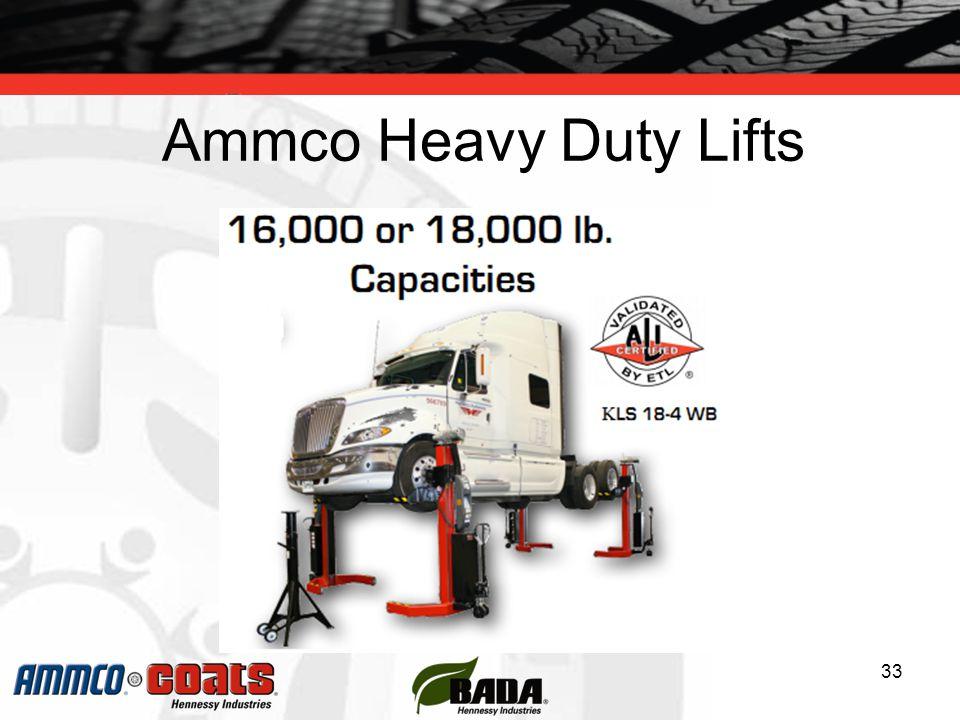 Ammco Heavy Duty Lifts 33