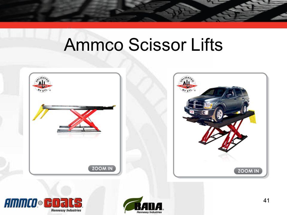 41 Ammco Scissor Lifts 41