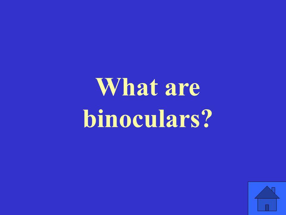 What are binoculars