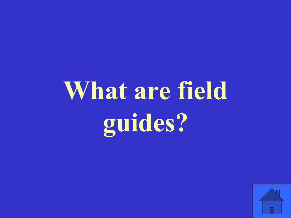 What are field guides
