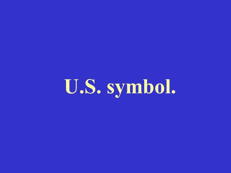 U.S. symbol.