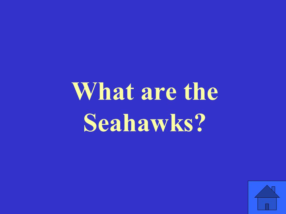 What are the Seahawks