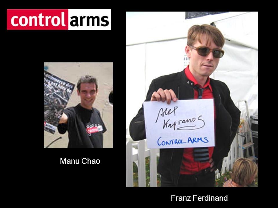 Manu Chao Franz Ferdinand