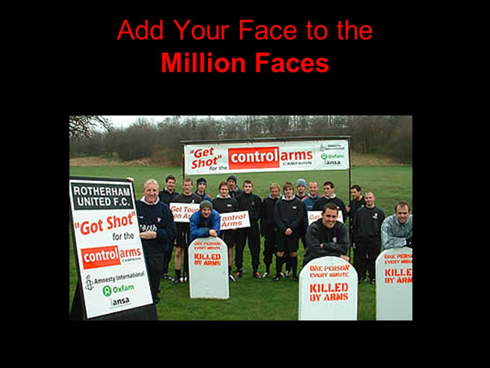 Add Your Face to the Million Faces