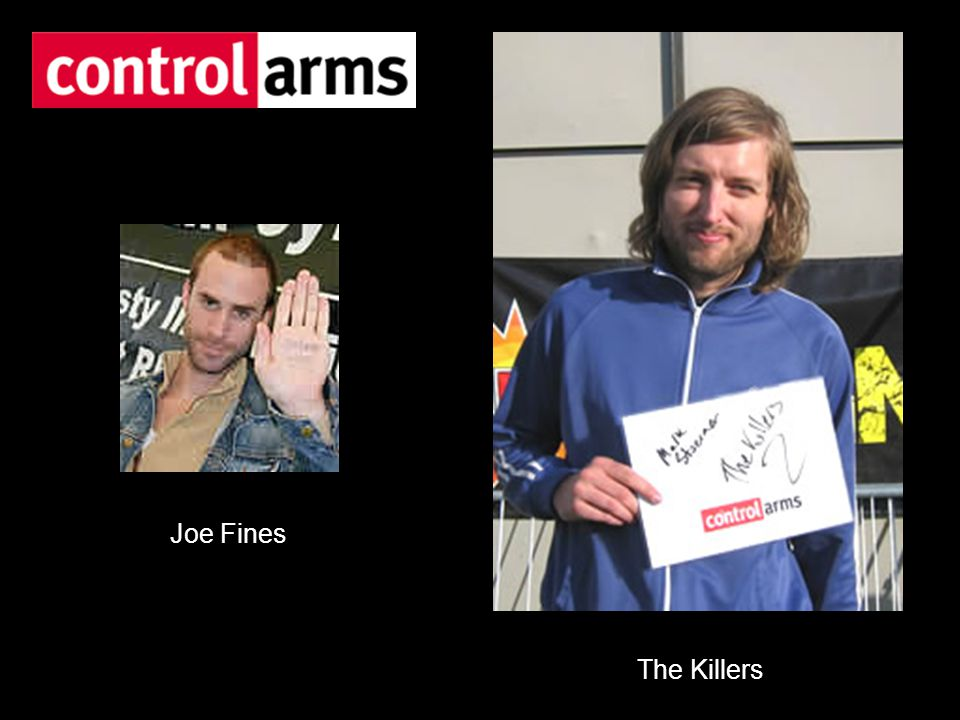 Joe Fines The Killers