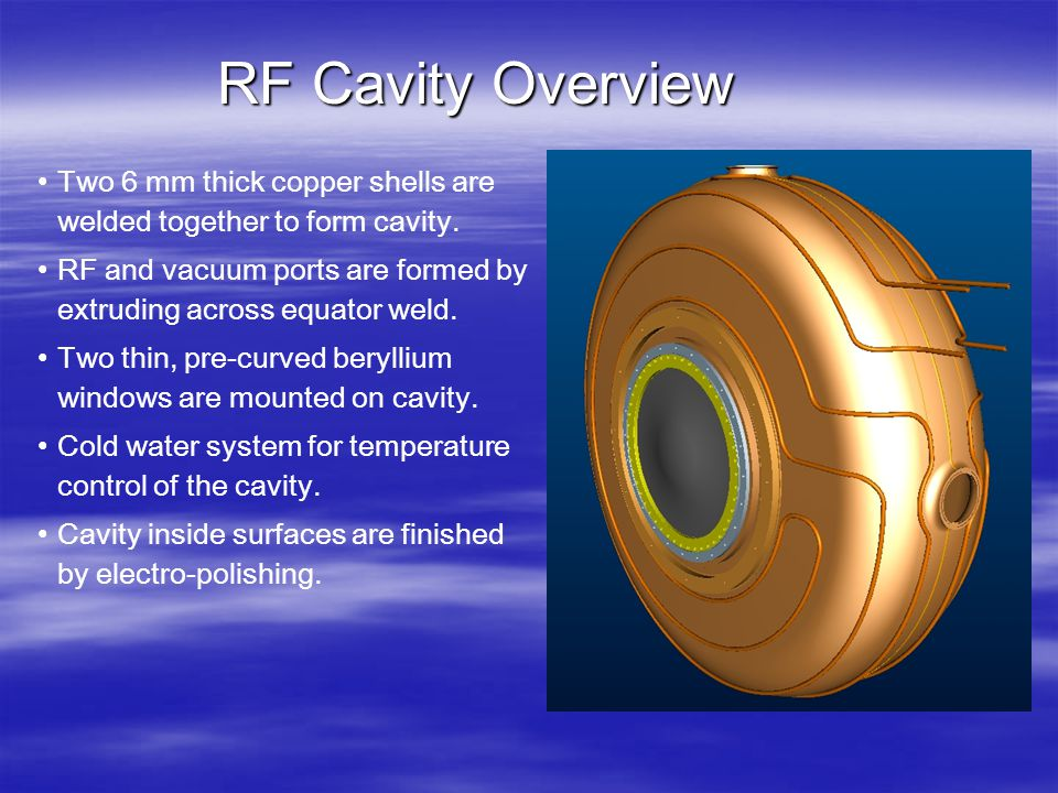 Fermilab test conditions  Cavity will be rigidly bolted through both stiffener rings to free-standing fixture.