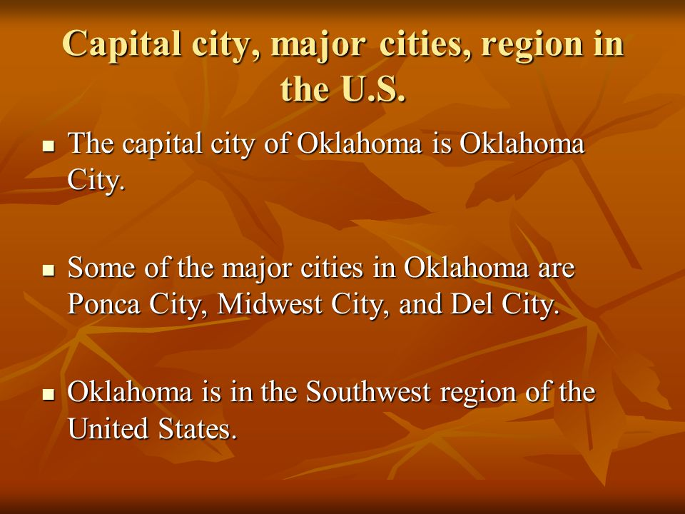 Population and Nickname The population in Oklahoma is 3,687,050 people.