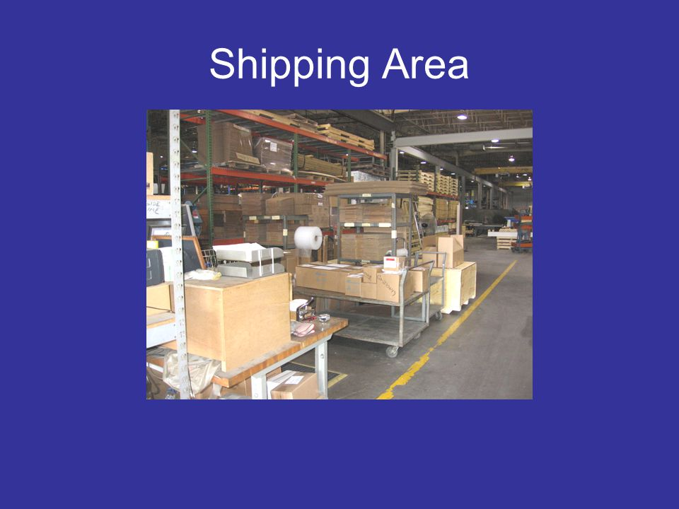 Shipping Area