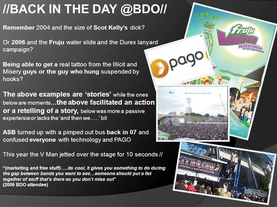 //BACK IN THE DAY @BDO// Remember 2004 and the size of Scot Kelly's dick.