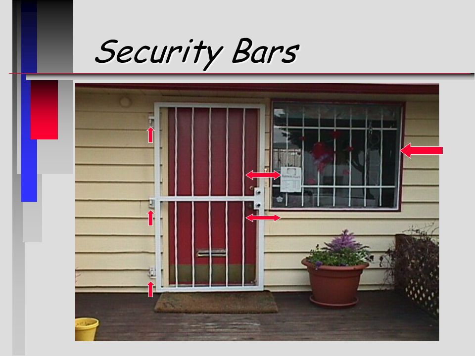 Security Bars