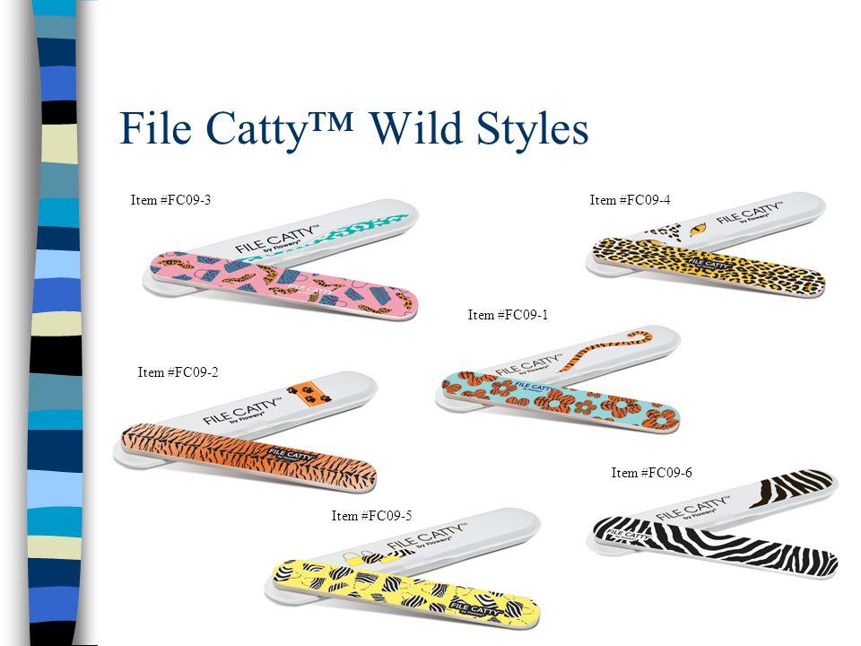 File Catty™ Wild Styles Item #FC09-3Item #FC09-4 Item #FC09-2 Item #FC09-1 Item #FC09-5 Item #FC09-6