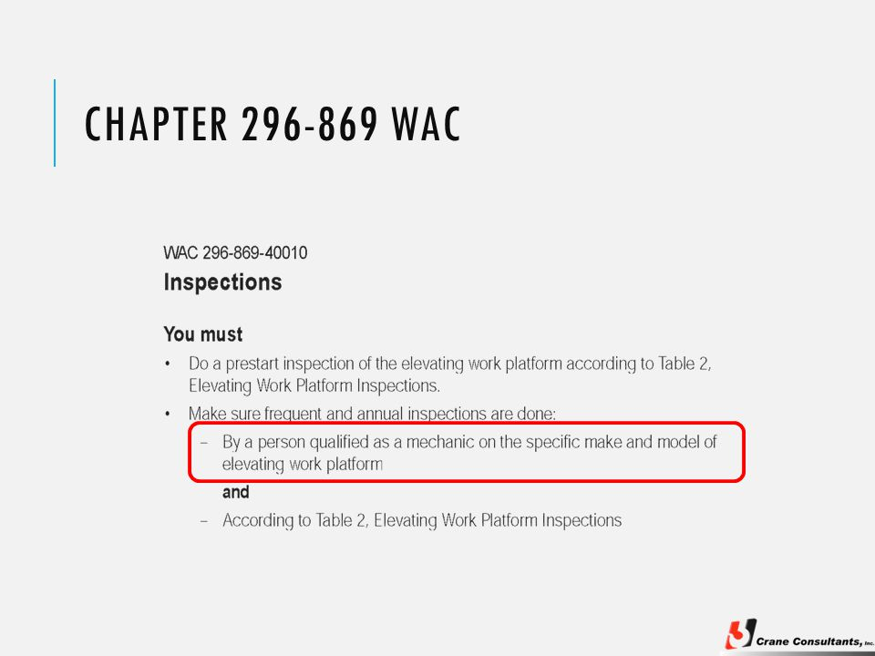 CHAPTER 296-869 WAC