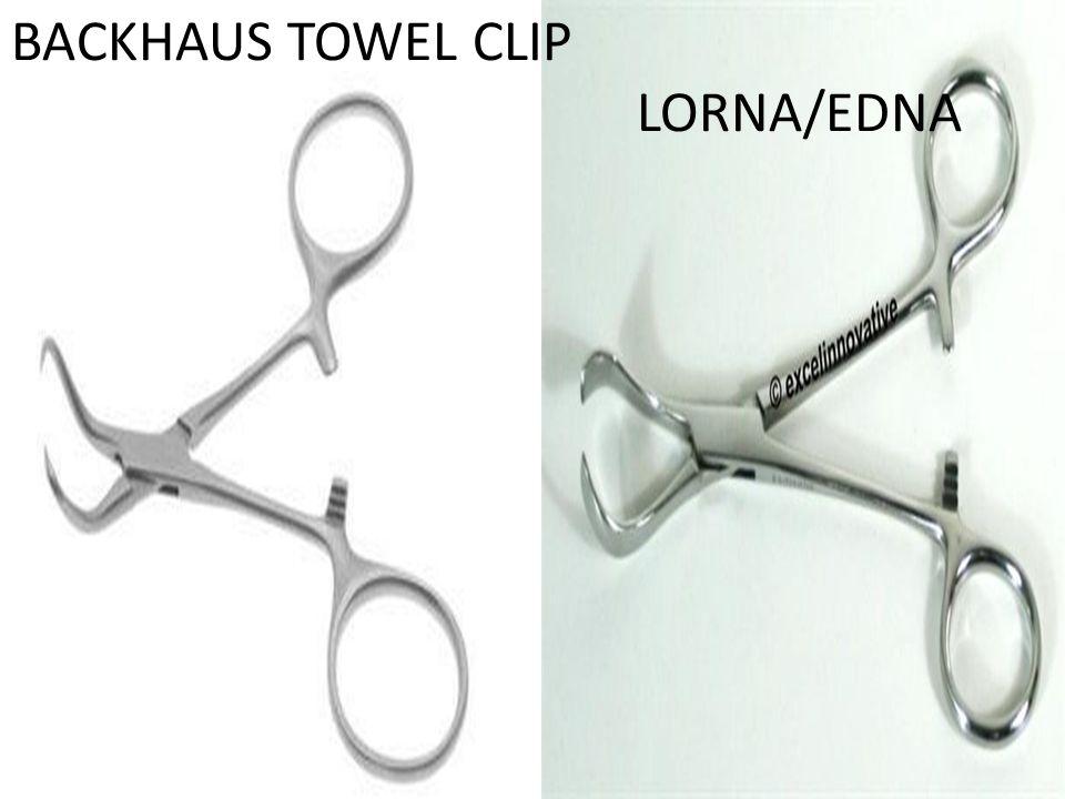 BACKHAUS TOWEL CLIP LORNA/EDNA
