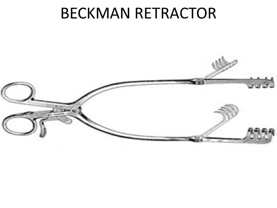 BECKMAN RETRACTOR