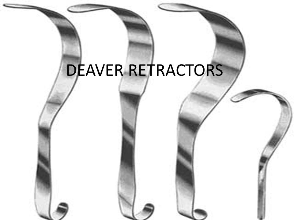 DEAVER RETRACTORS