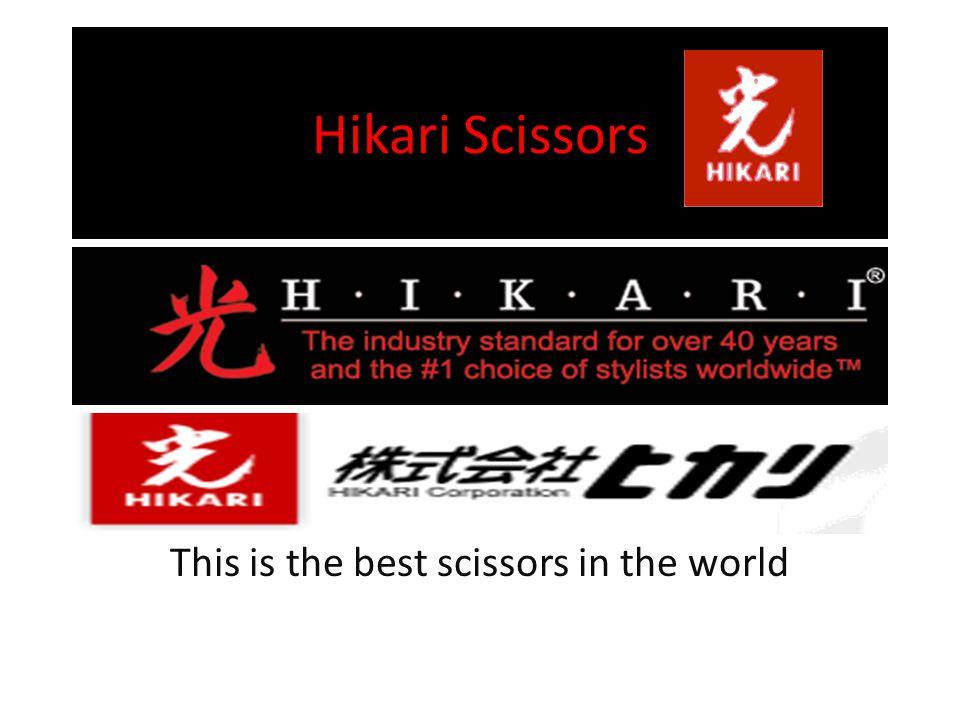 Video of Hikari scissors http://www.youtube.com/watch?v=I5XiWtLnf Ok&list=UUiZrYRz_ld28WU25CsKhutA&index= 9 http://www.youtube.com/watch?v=I5XiWtLnf Ok&list=UUiZrYRz_ld28WU25CsKhutA&index= 9 END