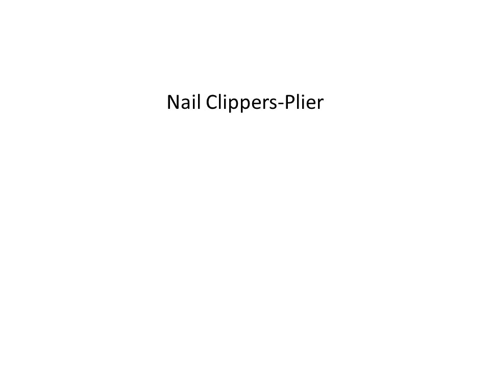 Nail Clippers-Plier