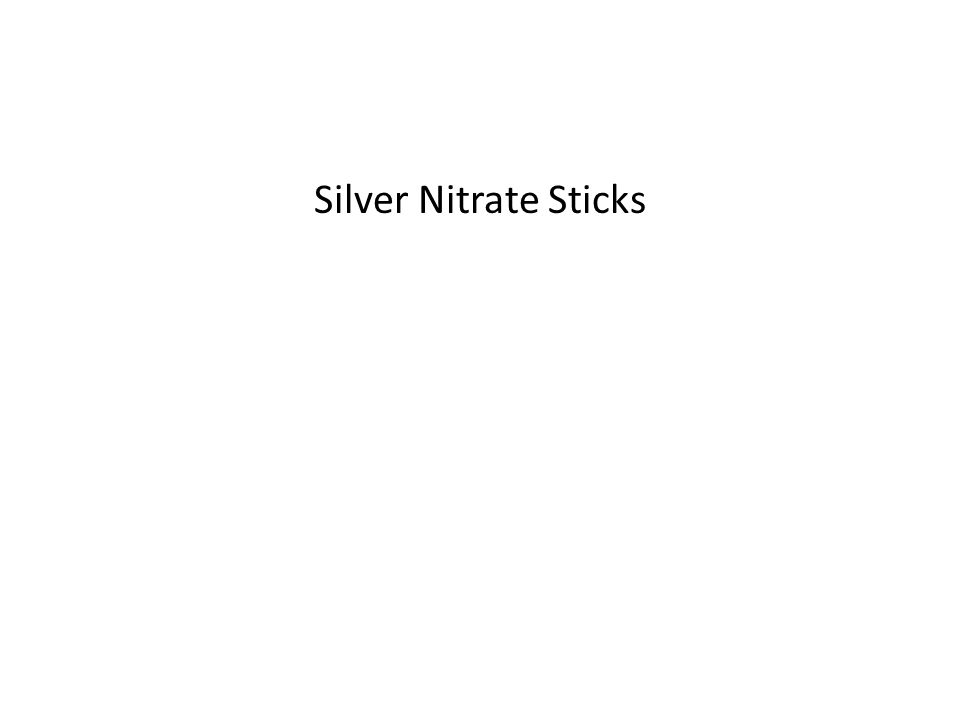 Silver Nitrate Sticks
